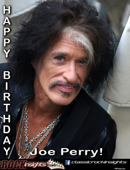 9 10 1950 Joe Perry Born